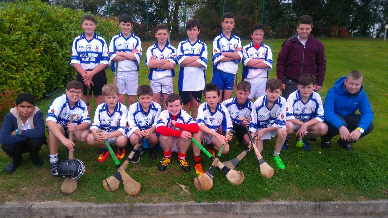 First year hurling team