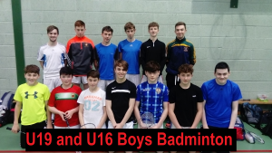 u16 boys badminton