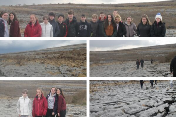karst landscape of the Burren